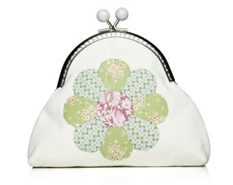 Tilda-Sewing: Flower purse