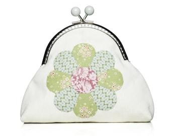 Tilda-Sewing: Flower purse