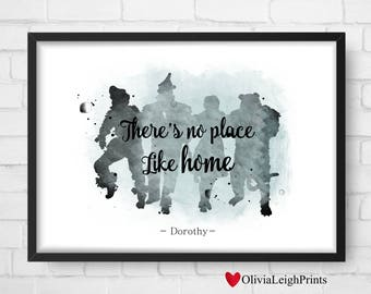 The Wizard Of Oz art print Instant Download
