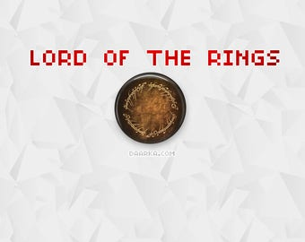 Lord of the Rings (Pin-Back Buttons)