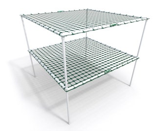"""Scrog-Pro™ """"Double-Tier"""" (4×4) Screen of Green Trellis System"""