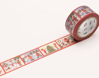 MT Noël 2017 – point histoire Washi Tape, MT Masking Tape - MTCMAS86