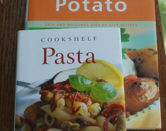 Recipes etsy pasta and potato hardcover cookbooks forumfinder Image collections