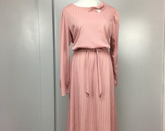Dusty Rose Vintage Dress