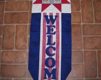 americana welcome banners