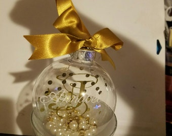 Customized Christmas ornaments