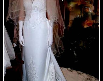 WEDDING dress GORGEOUS Sylphide and his long tail in promotion