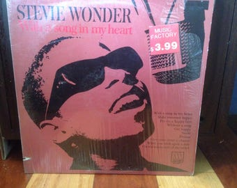 Stevie Wonder - With A Song In My Heart - Vinyl