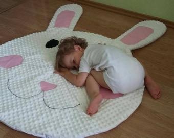 Rabbit Baby Playmat