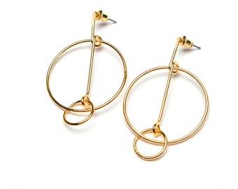 Geometric Shape Simplistic Earrings