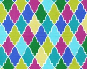 SALE - Michael Miller, Patty Young, Persian Wall in Jewel, 1 Yard