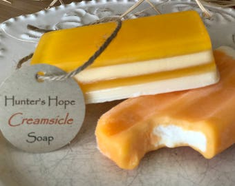 Handmade Creamsicle Soap