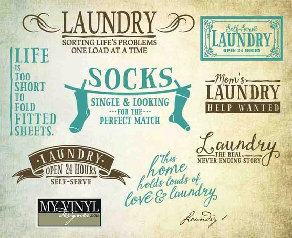 Download Laundry Room SVG Files Laundry Room Quote Vectors Laundry