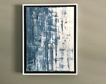 Original Small Abstract Painting (12x16)