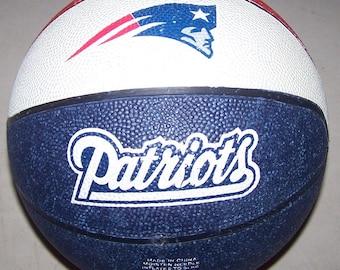 Vintage New England Patriots Basketball