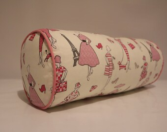 50's Ladies  bolster cover