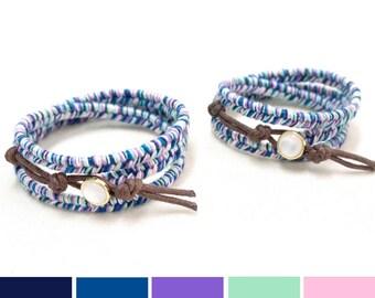 Mother and Daughter Bracelet, Mermaid Bracelet, Mommy and Me Bracelet, Mermaid Jewelry, Baby Bracelet, Mom and Me bracelets, Mommy & Me