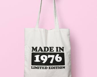 Made In 1976 Limited Edition Tote Bag Long Handles TB1739