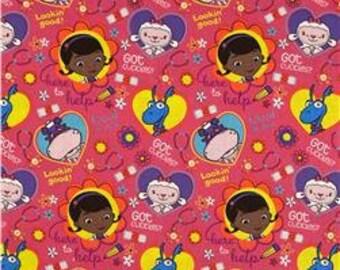 Toddler Bed Sheet Set DocMcStuffins new 3 piece set Personalized