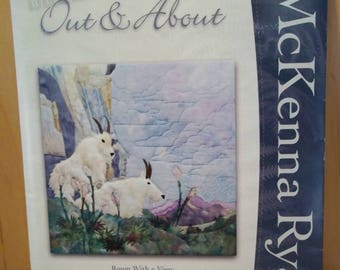 "McKenna Ryan Out & About ""Room With A View"", Block One, Mountain Goats, Uncut"