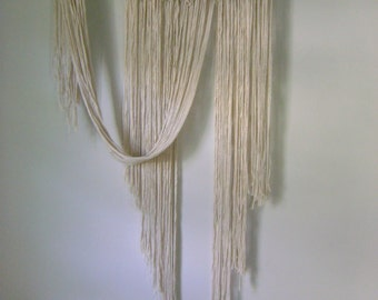Driftwood & Cotton Giant Wall Hanging
