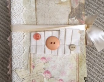 JOURNALS, Vintage, books, collectibles,scrapbook,naked journals,scrapbook paper,metal corner embellisments