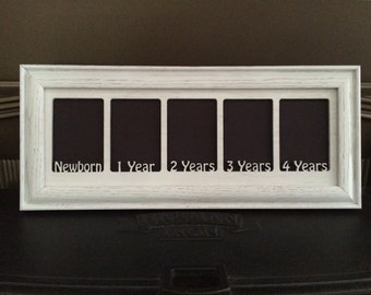 First Years Kids Picture Frame Newborn to 4 Years 5x14