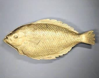 Vintage Fish Platter