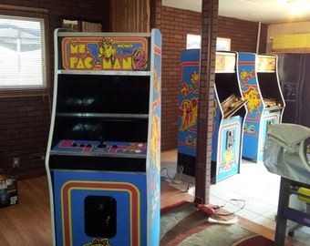 Stand Up Multi-Cade Arcade Game Machines, in many styles and colors.  Any design, custom made and included for your game, no extra charge!