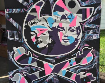 Double Marilyn Original Painting