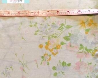 Vintage Pastel Floral Pillowcase