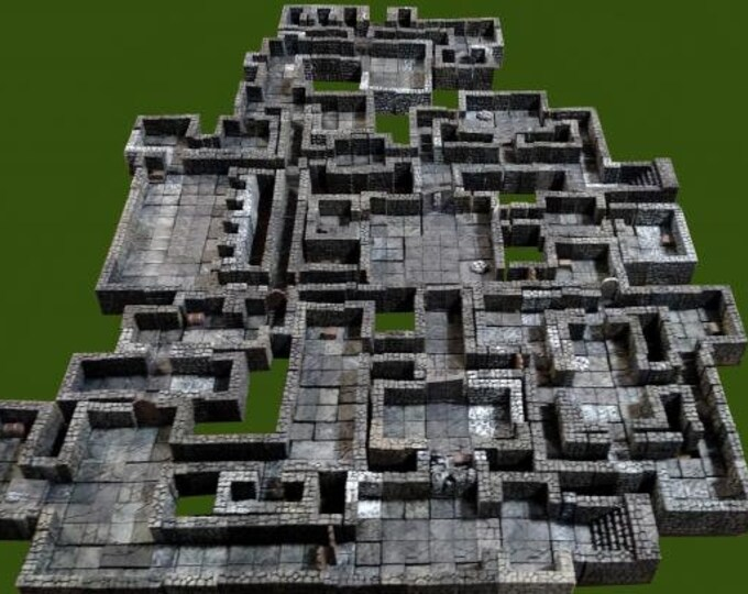 Mega Dungeon: Our First Dungeon Set - Legendary Realms Terrain