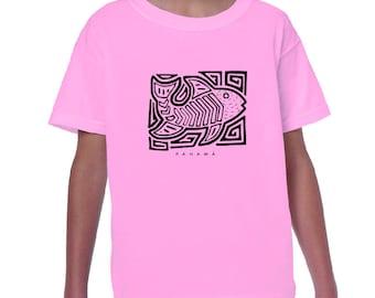 Ethnic Fish Kids T Shirt
