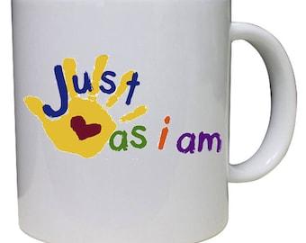 Just As I Am Down Syndrome Coffee Mug