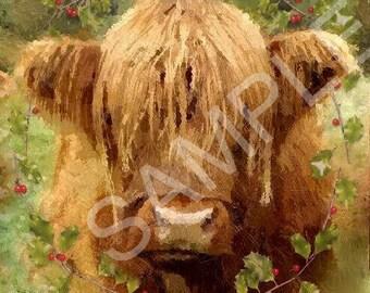 Scottish Highland Cow by sbiluk