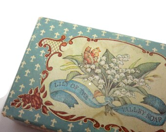 Crabtree and Evelyn Lily of the Valley Soap Mini Bar - Parfumerie Monpelas, Paris, 1980