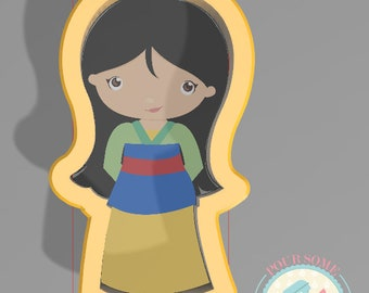 Princess FM Cookie Cutter