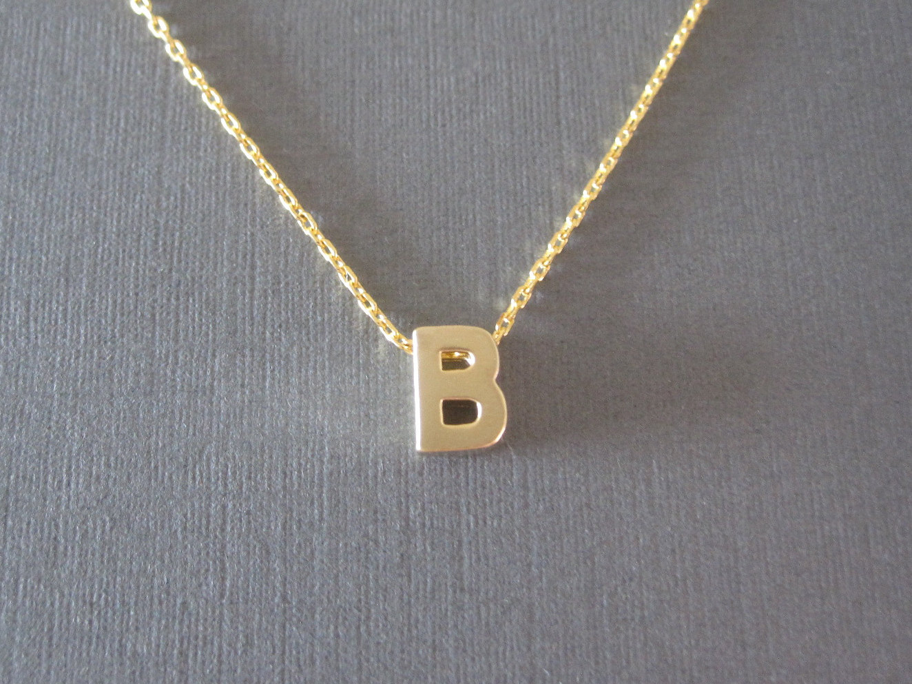 alphabet necklace m slp amazon initial aolo jewelry letter gold com