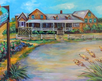 Quagmires of the Outer Banks giclee print