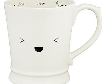 Giggly Kawaii Emoticon Muggsie Mug