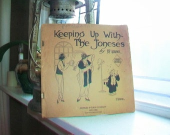 Keeping Up With The Joneses Vintage 1920 Comic Book