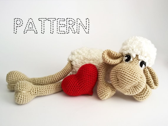 Amigurumi Crochet Books : Sale easter sheep crochet patterns easter lamb crochet