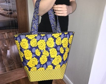 Beach Bag and Cosmetic Bag