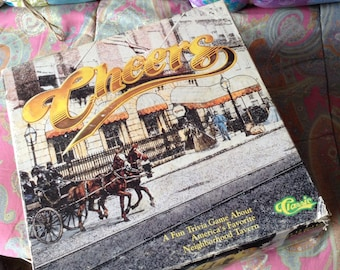 Vintage Cheers Trivia Game free shipping