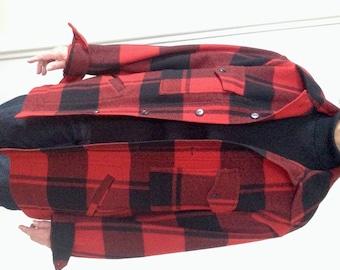 Pendleton Lumberman's Style Jacket   Vintage    100% Virgin Wool - Size M