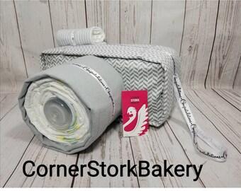 Camera Diaper Cake| Baby Shower Centerpiece| Neutral Gender Baby Gift| Neutral Gender Diaper Cake| Centerpiece| Baby Gift| Diaper Cake| Baby