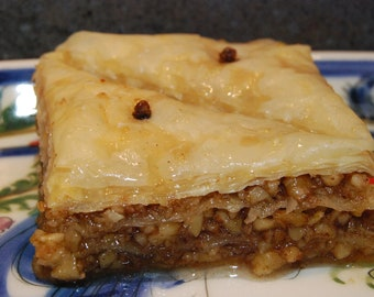 Baklava Hand Made Traditional Greek Pastry