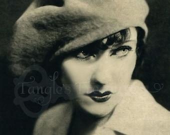 50% OFF SALE! 1920s Beauty Vintage Digital Image - Commerical Use - Image No. SL14