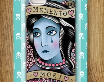 Memento Mori case for iPhone 5/5s by Adam Fisher