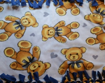 Traditional Baby Bear Blanket